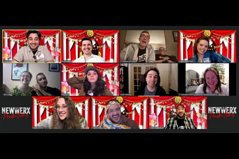 The cast of Carnival Mayhem invites you to participate in a choose-your-own adventure murdery mystery.
