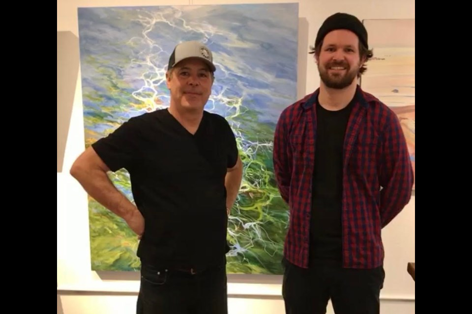 Mark and Blake Fletcher are the father-son duo behind Cloud Gallery, which is now open in downtown Orillia.