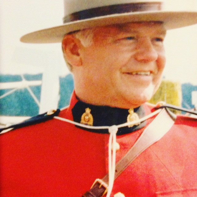 Colin Partridge, after a lengthy military career, became an RCMP officer at the age of 45. Later in life, he pursued his artistic passion and began chainsaw carving.