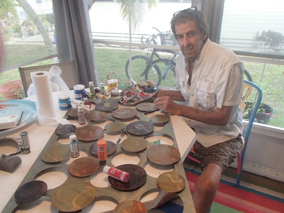 Local artist Jimi McKee is having an open studio this weekend-credit Jimi McKee