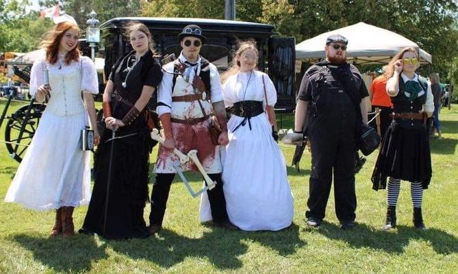 The Sawbones Society credit Coldwater Steampunk Festival