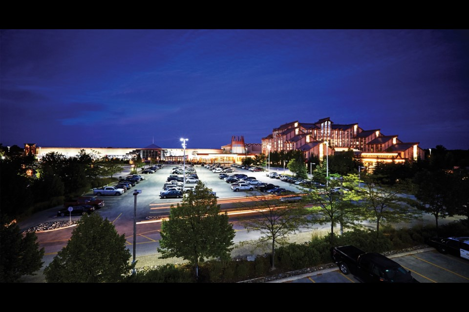 Casino Rama at night. Supplied photo