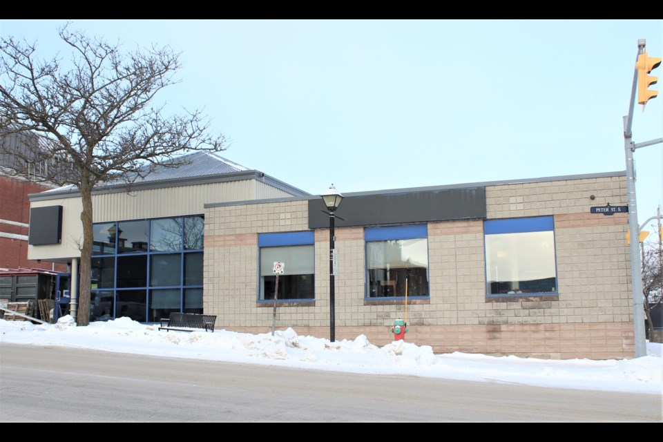 Steenhof Building Services Group is moving into the former RBC in downtown Orillia. Nathan Taylor/OrilliaMatters