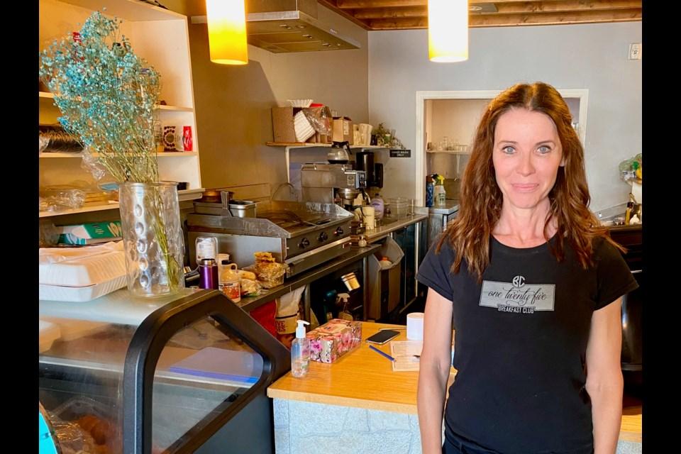 Angela Brown owns 125 Breakfast Club in downtown Orillia.