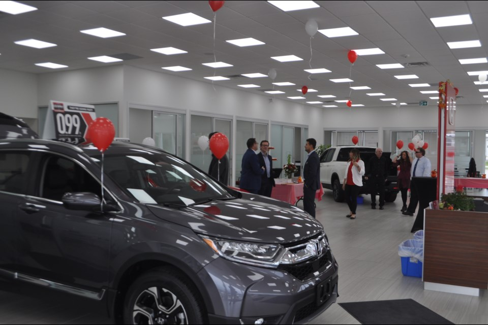 Dalt's Honda officially opened their new showroom Thursday afternoon. Andrew Philips/OrilliaMatters