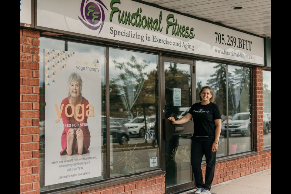 Crystal Cabural, the owner of Functional Fitness, is thankful for the CDC's support of her Memorial Avenue business. Rene Dawn Photography.