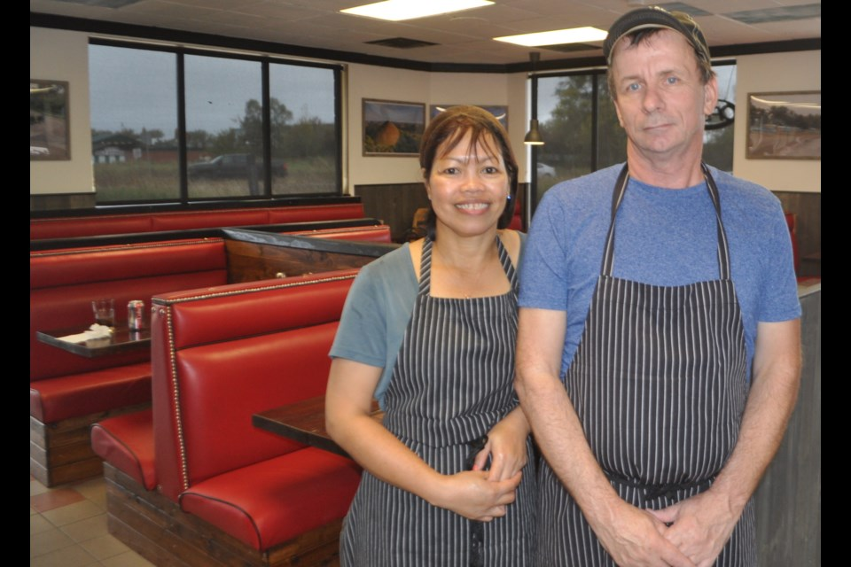 Hermie's Diner owners Chris Suckling and Hermie Baldado are excited to venture into the world of restaurant ownership. Andrew Philips/OrilliaMatters