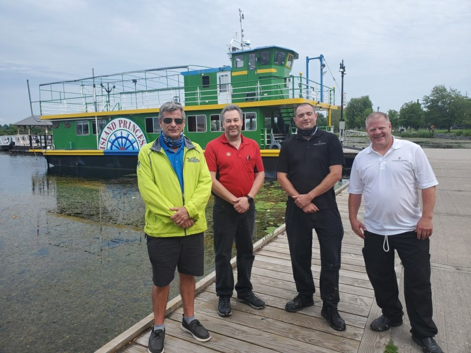Island Princess new owners