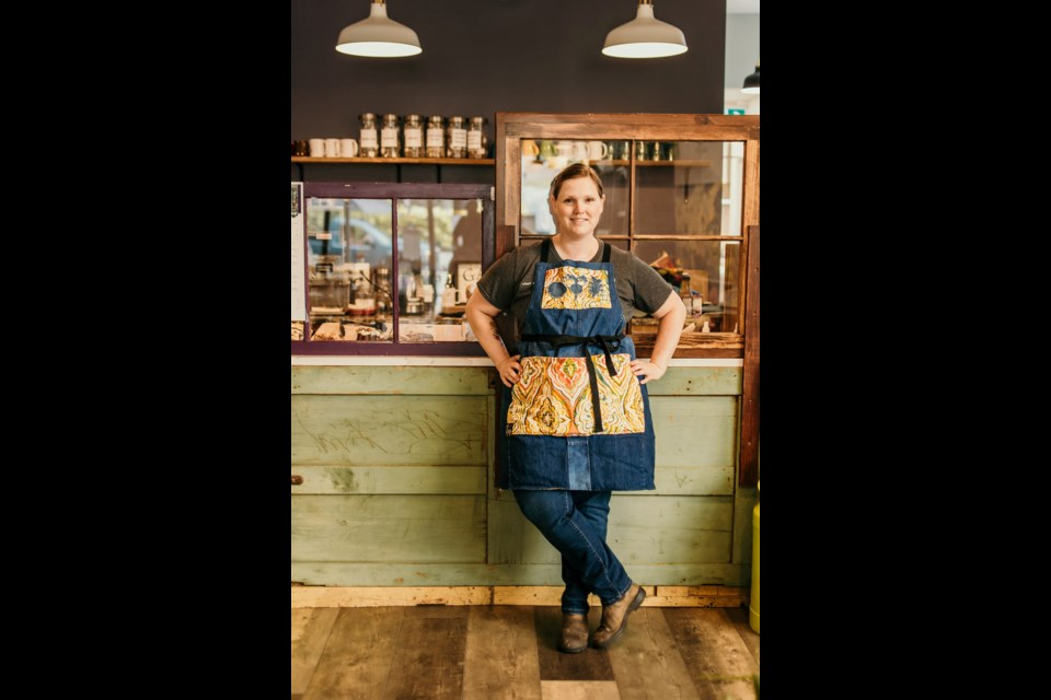 The Orillia Community Development Corporation has helped Melanie Robinson grow her popular downtown Orillia eatery, Eclectic Café. Rene Dawn Photography