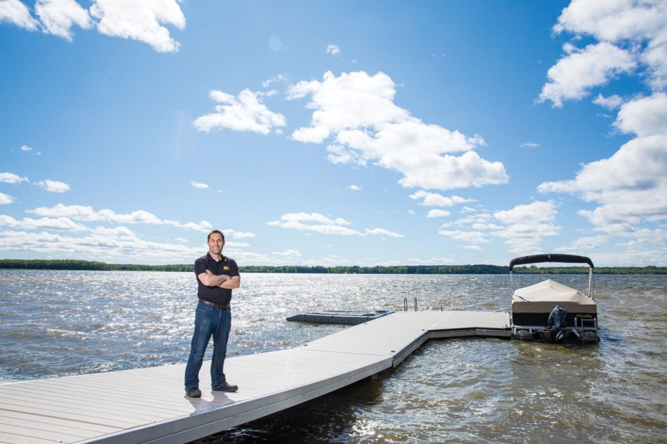On The Water Designs owner, Brandon Jewitt, will be presenting a seminar called 'What Dock Do I Need?' at this year's Toronto International Boat Show.