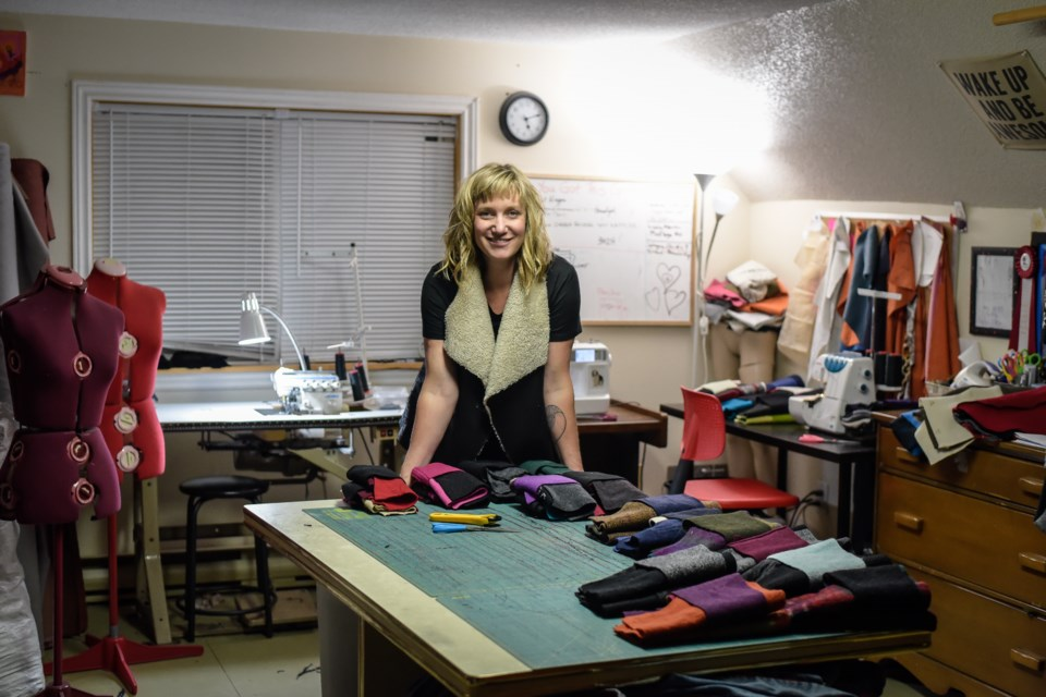 Beth McKean has grown her business, Hip Chick Design, thanks to some hard work, innovation and help from the Orillia Area CDC.