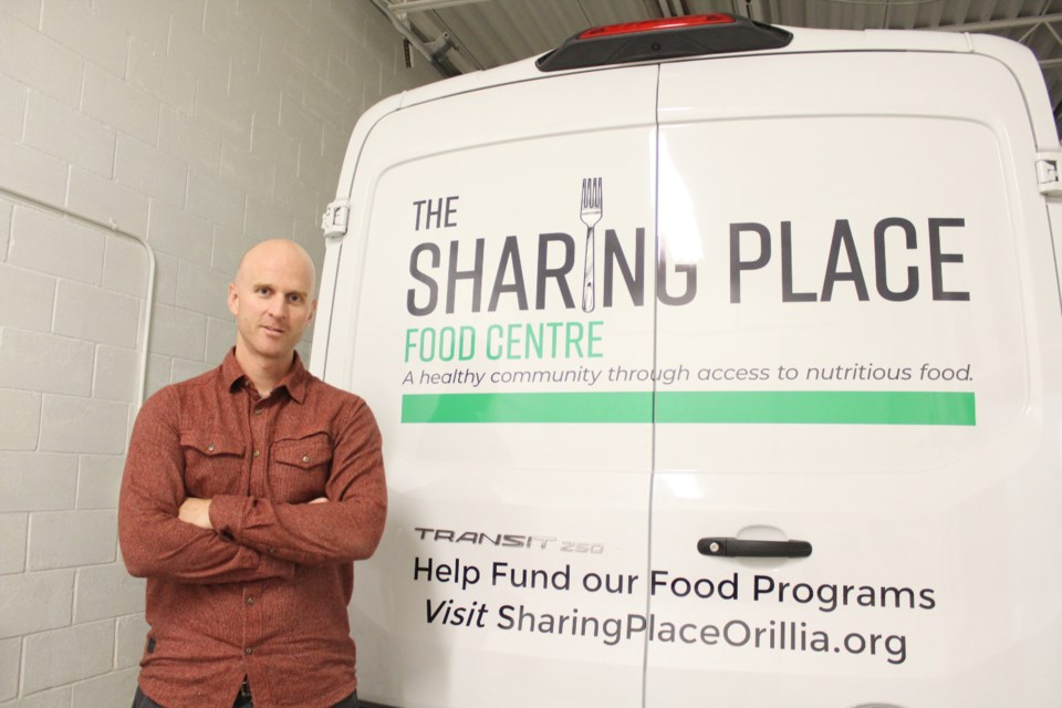 Chris Peacock is executive director of The Sharing Place Food Centre. Nathan Taylor/OrilliaMatters file photo