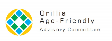 This 'circle square' logo is one of two options for the new logo of Orillia's Age-Friendly Advisory Committee.
