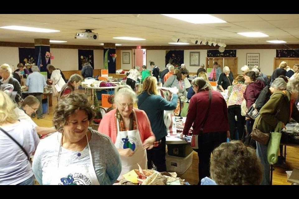 The Yards and Yarns event is always a popular event. This year's annual fundraiser for Mariposa Grandmothers to Grandmothers will be held Sept. 28.