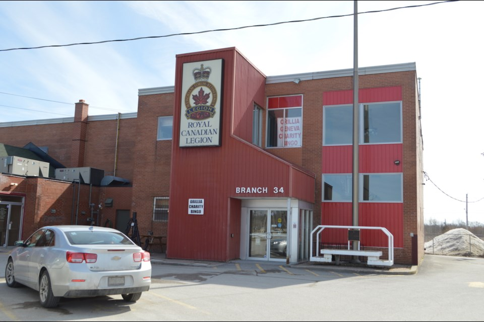 The Royal Canadian Legion's Orillia Branch 34 has no plan to close its doors despite COVID-19 concerns. President Bob Thomas says the legion staff is working hard to sanitize and keep the branch clean.Tyler Evans/OrilliaMatters