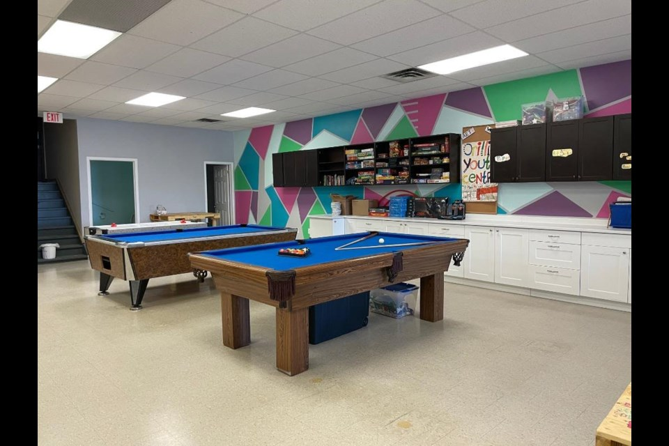 The Orillia Youth Centre got a much-needed makeover during the province-wide lockdown.