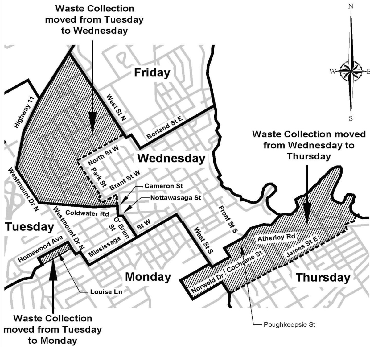 Do The City's Curbside Collection Changes Impact You