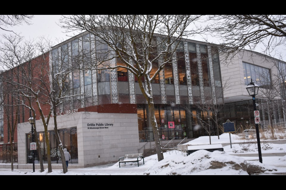 Orillia Public Library staff are pleading with city council to provide an extra $71,000 in funding for 2021 so that it can hire security guards to be on site when the library is open. OrilliaMatters File Photo
