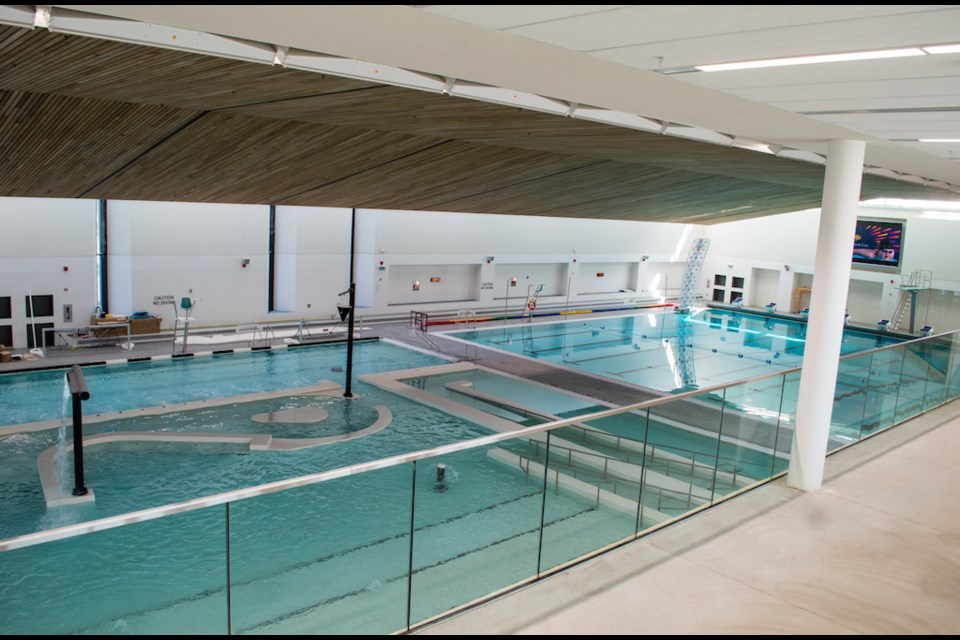 The Orillia Recreation Centre features three pools. Tyler Evans/OrilliaMatters