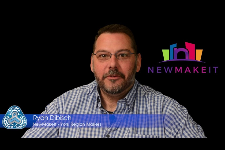 Ryan Dibisch, president and executive director of NewMakeit.