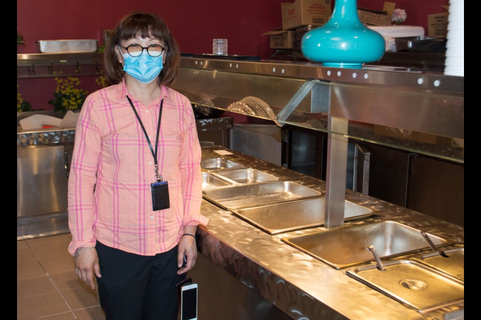 Golden Wok owner Katty Po says that even if the provincial government lifts restrictions around buffets, it will be difficult to safely offer that option again. Tyler Evans/OrilliaMatters.