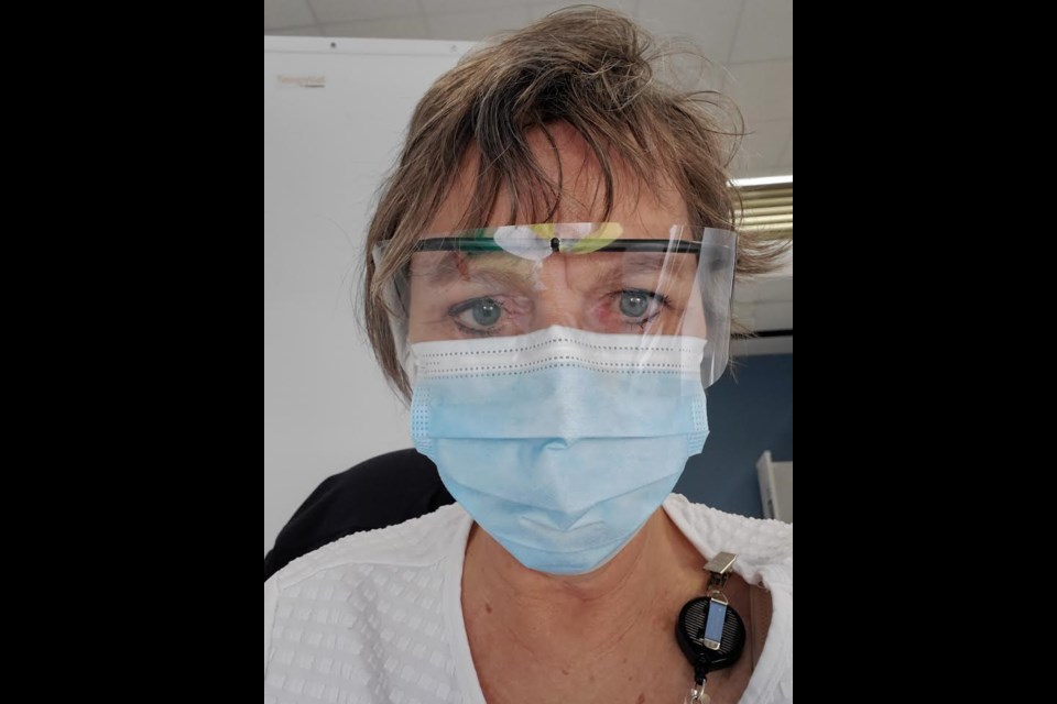 Lois Gilmour, an Orillia nurse of 42 years, has come out of retirement to vaccinate locals during the COVID-19 pandemic.