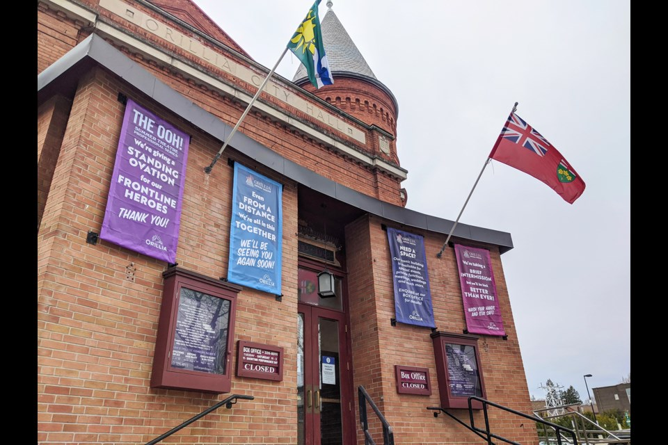 Events are once again happening at the Orillia Opera House. OrilliaMatters File Photo