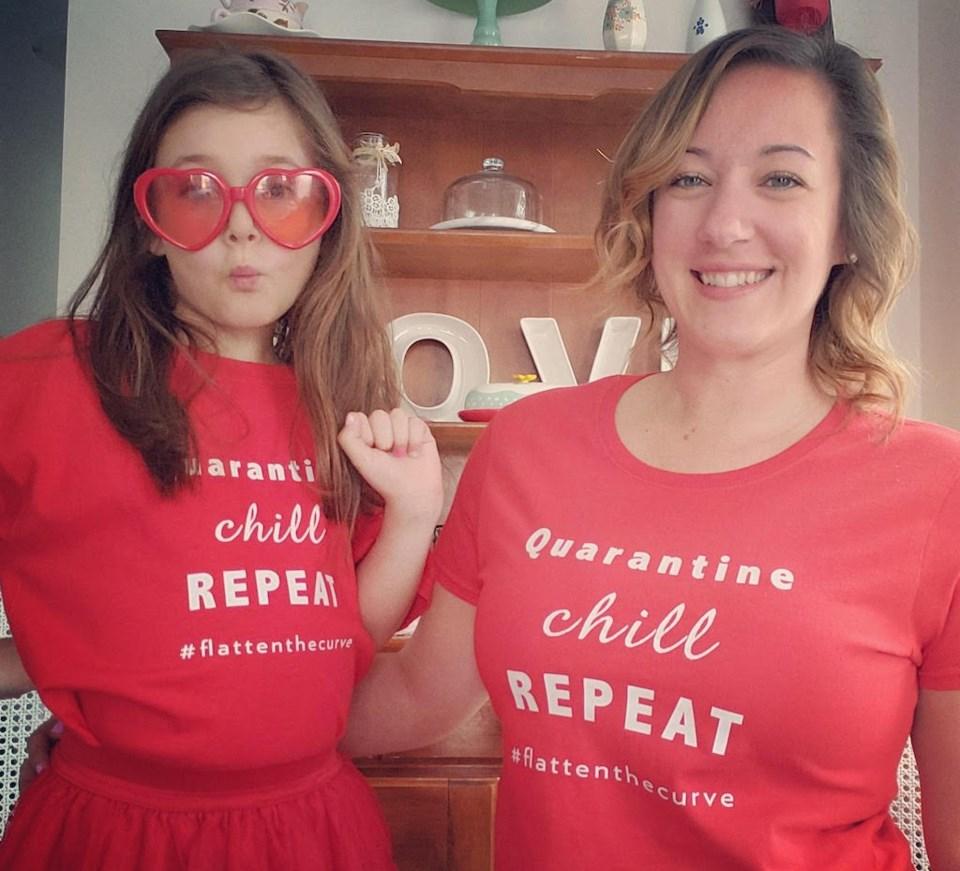 quarantine fundraiser shirts