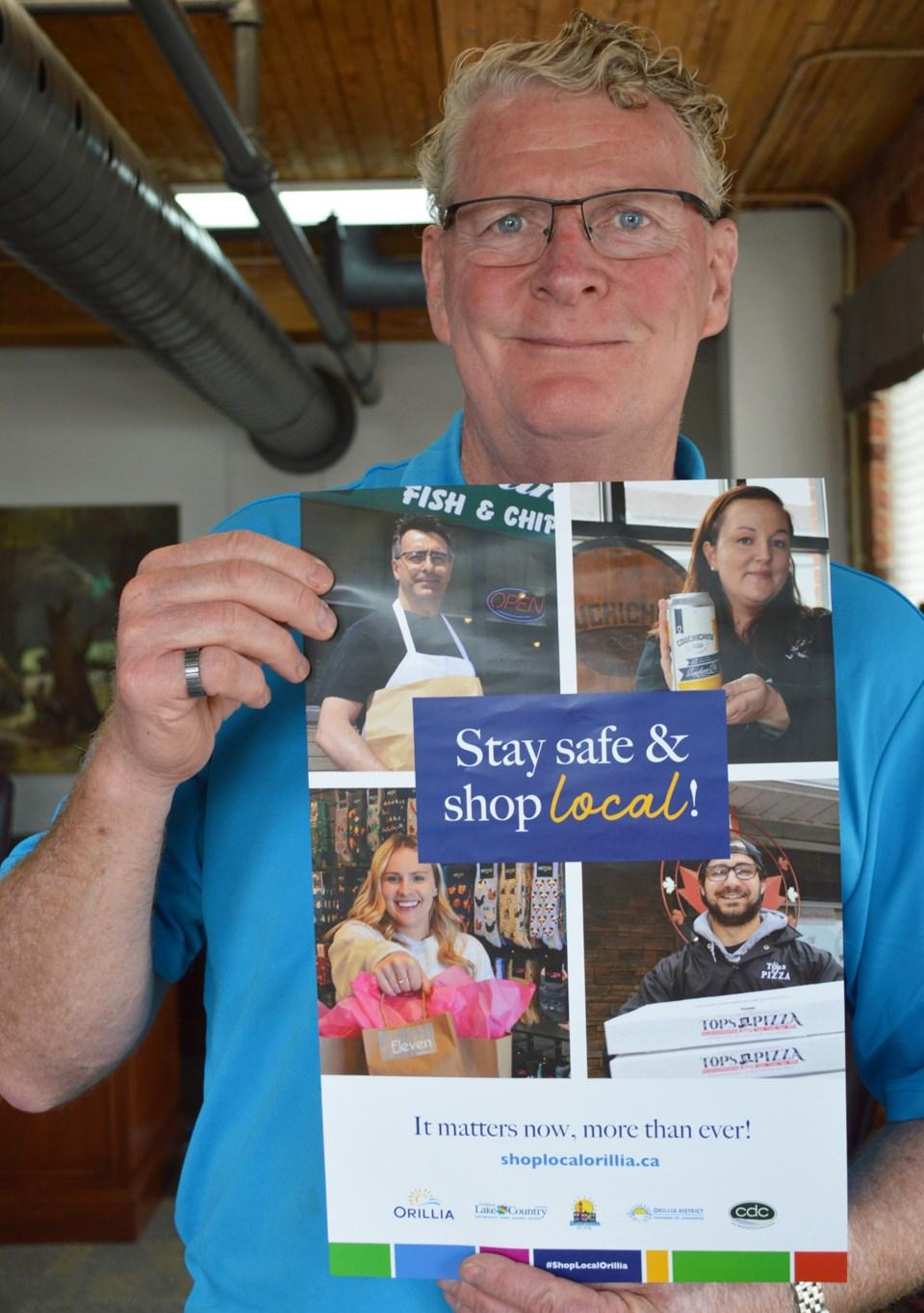 Stay Safe Shop Local - Mayor Clarke