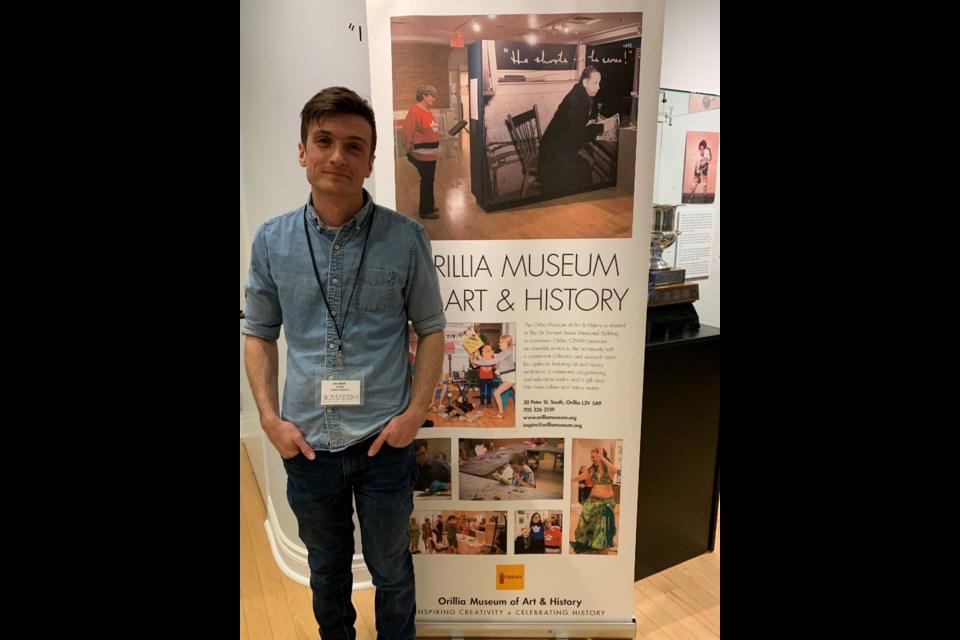 John Merritt was the guest speaker at the recent Orillia Museum of Art & History Speaker Series. Contributed photo