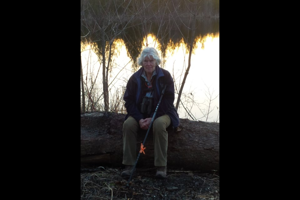 Nancy Ironside, a retired doctor, is a well-known philanthropist and environmentalist who remains active in the community. Today is her birthday.