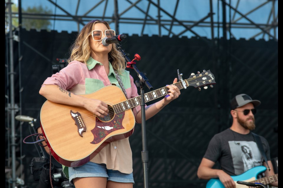 Kelly Prescott kicked off the final Boots and Hearts Endless Summer Series event on Friday night at Burl's Creek in Oro-Medonte.