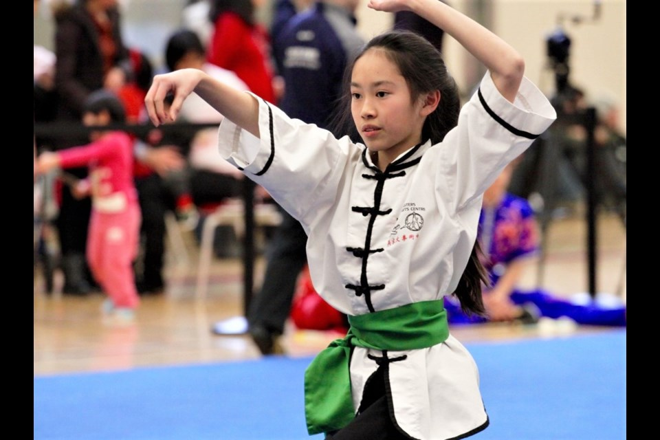 More than 170 athletes are competing in the Wushu competition at Bracebridge and Muskoka Lakes High School as part of the 2018 Ontario Winter Games. Ennis Coleman for OrilliaMatters