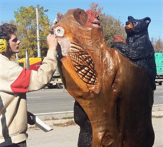 Chainsaw Carvers Set To Invade Washago This Weekend