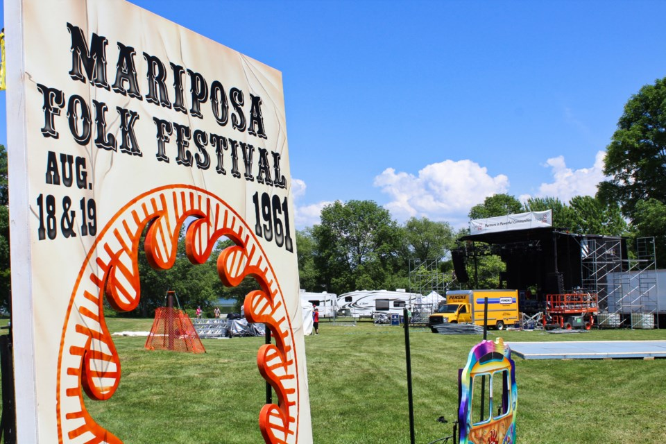 The Mariposa Folk Festival began in Orillia in 1961 and has enjoyed a renaissance since returning to Orillia. These days, the festival is focused on being sustainable - in more ways than one. OrilliaMatters File Photo