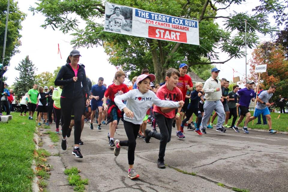 2019-09-15 Orillia Terry Fox Run 1