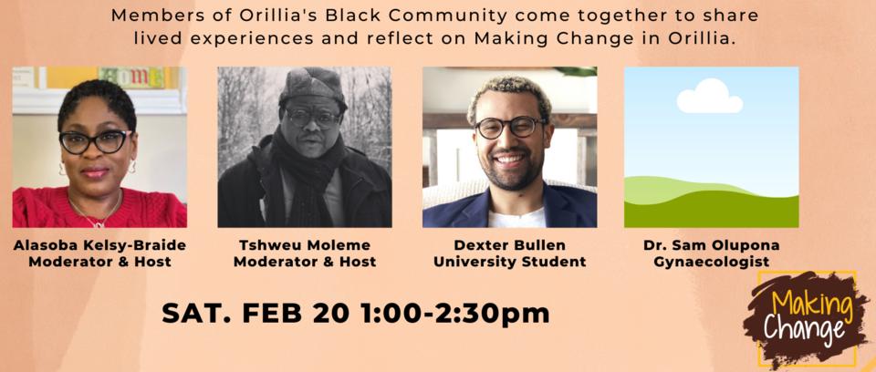 black history month orillia panel