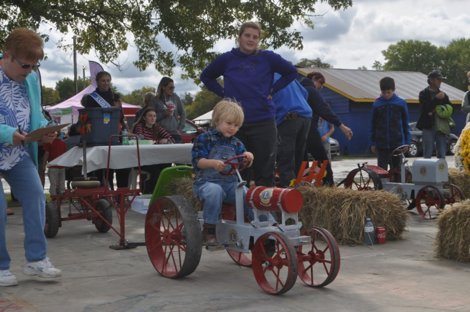 Coldwater fall fair mini tractor
