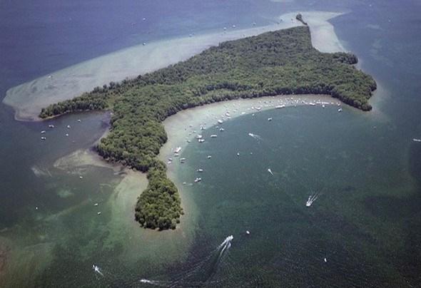 chief island aerial