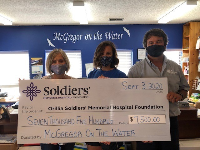 McGregor on the Water Funds Vital Signs Monitor for Soldiers' Paediatric...