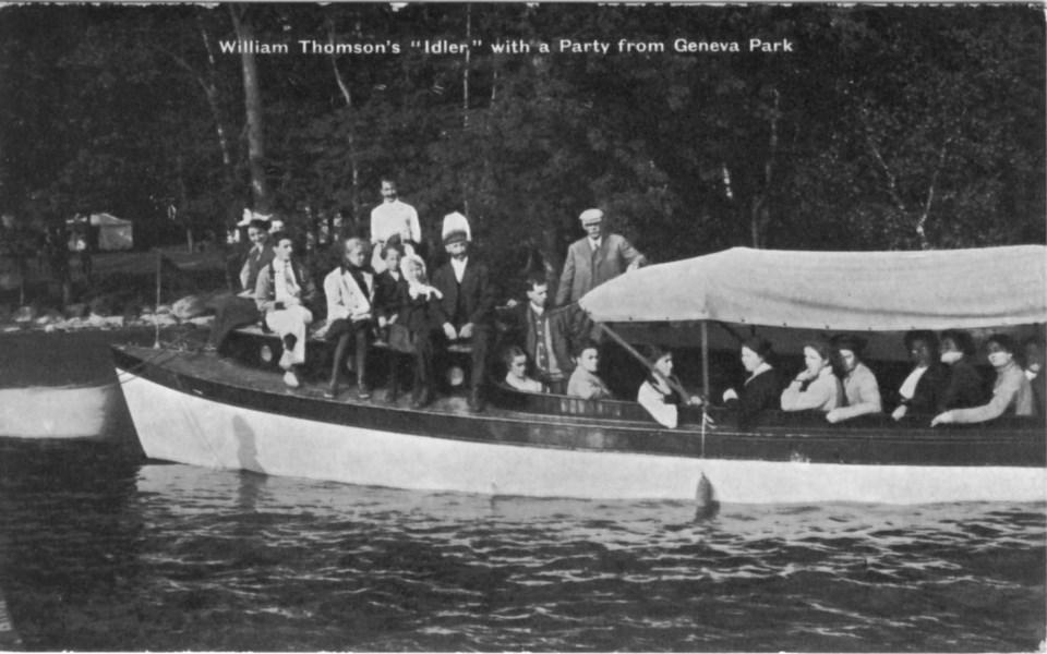 181 W. Thompson Idler boat 1913
