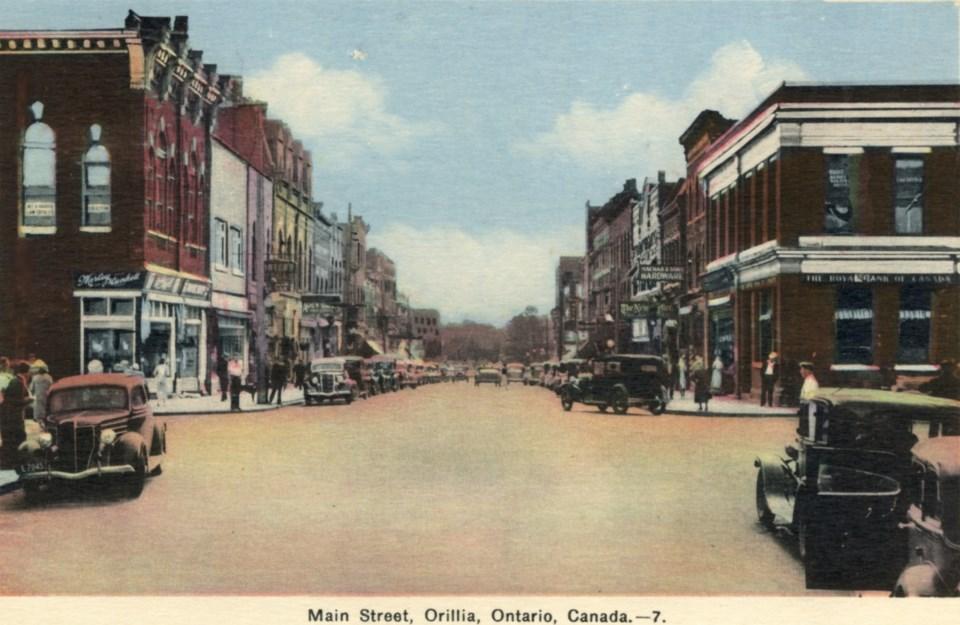 64 Main Street c.1945 postcard june 4
