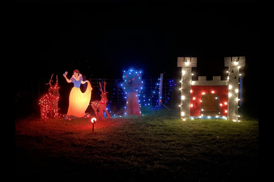 Hewitts Christmas Festival is being modified into a drive-thru holiday light and display show. Contributed photo