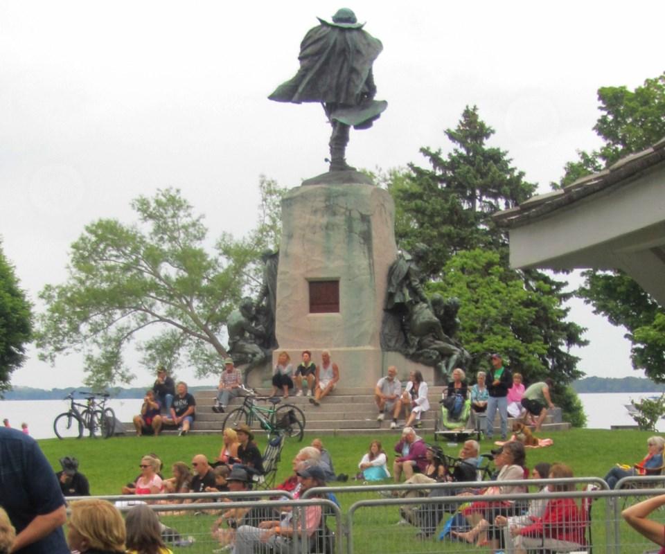2018-08-24 Champlain Monument Orillia