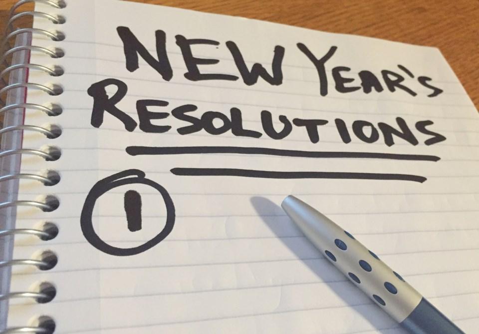 2018-12-28 New Years resolution