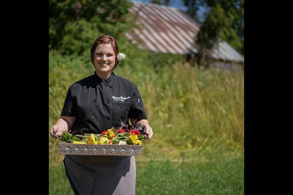 Chef Melanie Robinson owns Eclectic Café in downtown Orillia.