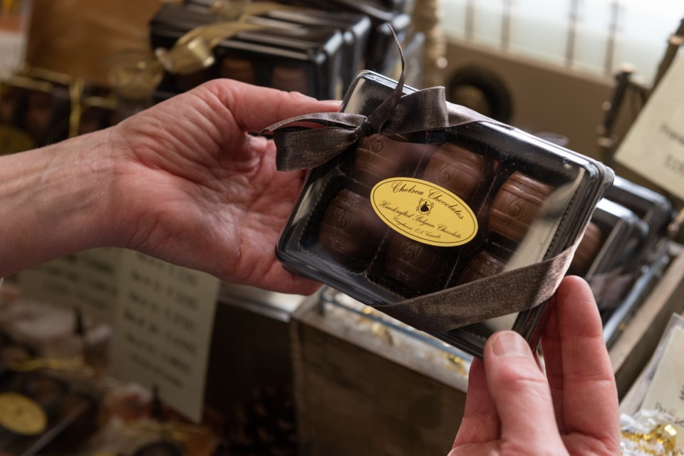 Chelsea Chocolates - Artisanal Belgian chocolates carefully crafted on site in Oro-Medonte. Supplied photo