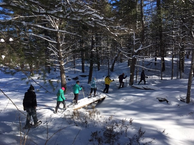 Members of the Ganaraska Hiking Club's Orillia chapter enjoyed a hike in the Washago area last winter. Getting outside this winter, safely, may be the best way to stay healthy and keep the pandemic at bay. File photo