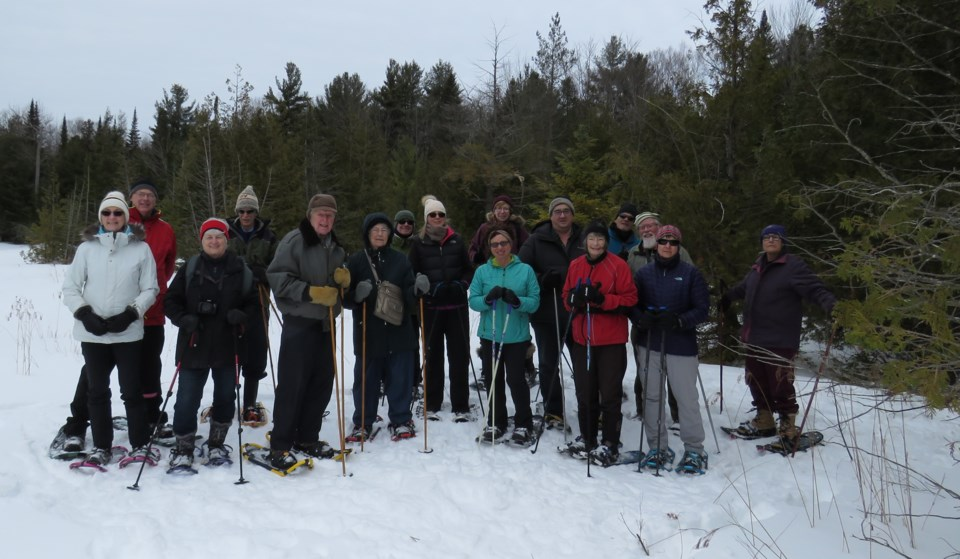 2019-02-25 naturalist club snowshoe