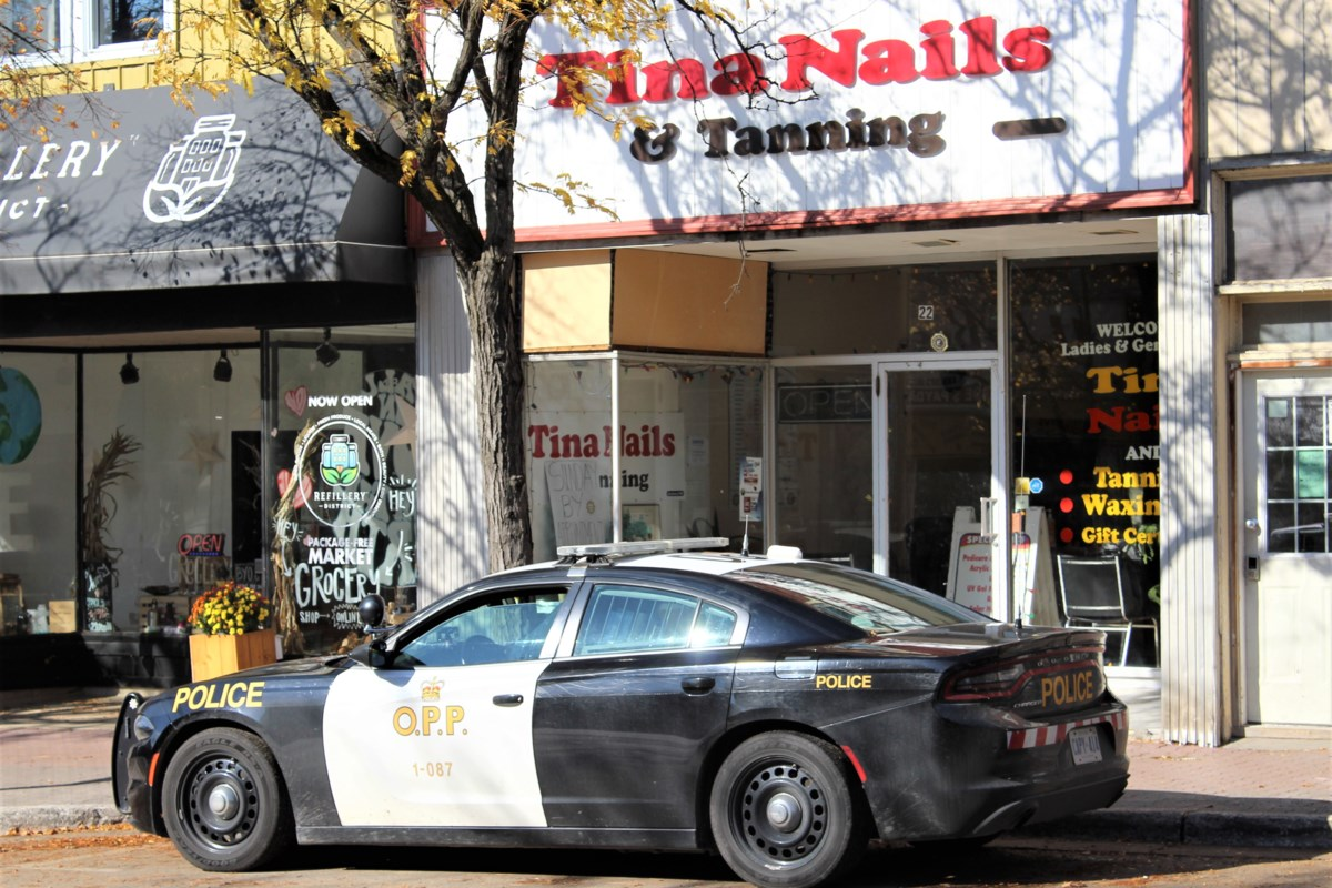 Suspect arrested after incident at nail salon in downtown Orillia